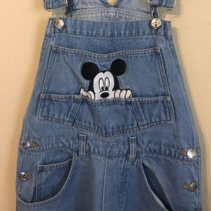 Disney Mickey Unlimited Jerry Leigh Overalls
